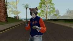 GTA Online Random Skin 7 Lonedigger Cat para GTA San Andreas