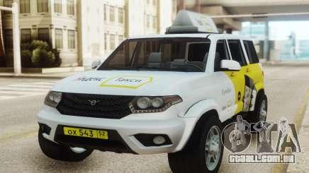 UAZ Patriota Yandex táxi para GTA San Andreas