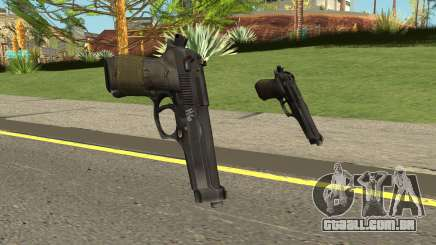 Beretta M9 (Normal Map) para GTA San Andreas