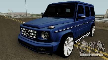 Mercedes-Benz G-Class 2019 para GTA San Andreas