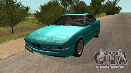 BMW 850i E31 de Tubarão para GTA San Andreas