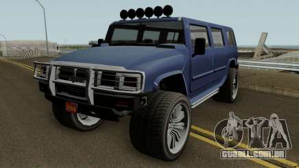 Mammoth Patriot Custom v2 GTA V para GTA San Andreas