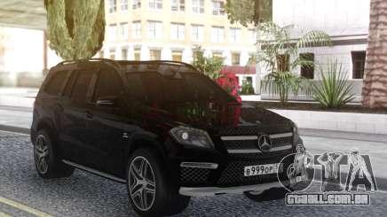 Mercedes-Benz GL63 Black para GTA San Andreas