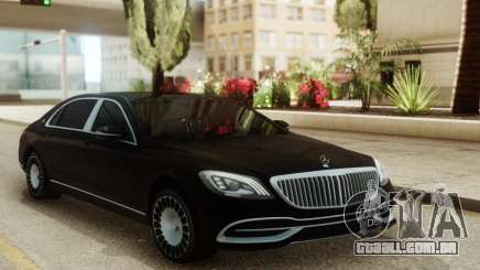 Mercedes-Maybach W222 para GTA San Andreas