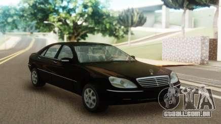 Mercedes-Benz S600 W220 para GTA San Andreas