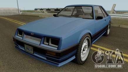 Vapid Uranus (Lozspeed) GTA IV para GTA San Andreas