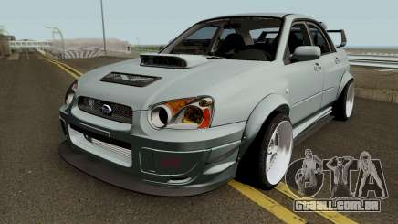 Subaru Impreza WRX STI Custom para GTA San Andreas