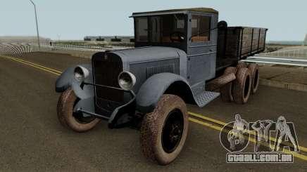O ZIS-6, 1934 para GTA San Andreas