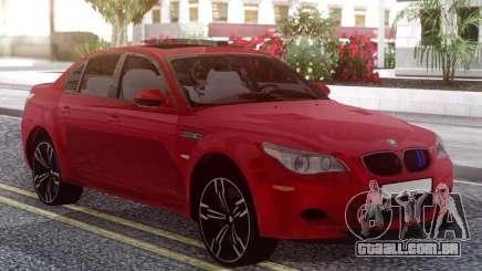 BMW M5 E60 Red para GTA San Andreas