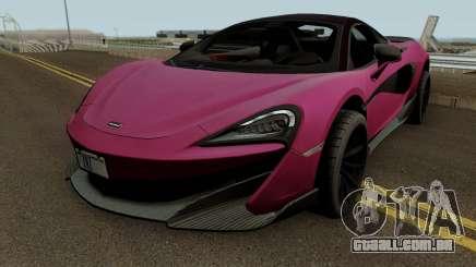 Mclaren 600LT 2019 para GTA San Andreas