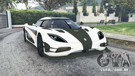 Koenigsegg One1 2014 v1.2 [replace] para GTA 5