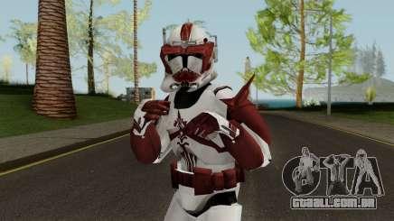 Star Wars Clone Commander Fox para GTA San Andreas