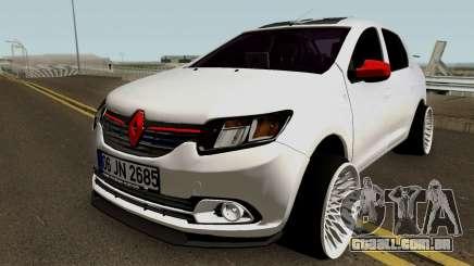 Renault Symbol Mey Construção De Garagem para GTA San Andreas