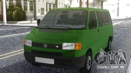 Volkswagen Transporter Mk4 1999 Green para GTA San Andreas