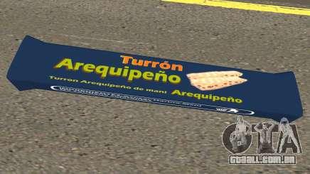 Turron Arequipeno para GTA San Andreas
