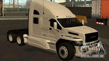 Ural Next White para GTA San Andreas