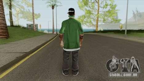 New Fam3 (Grove Street) para GTA San Andreas