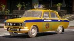 AZLK 2140 Police para GTA 4