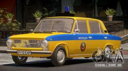 VAZ 21011 Police para GTA 4