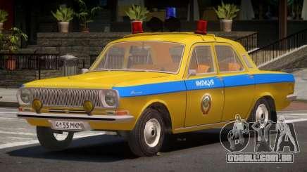 GAZ 24-01 Volga Police para GTA 4