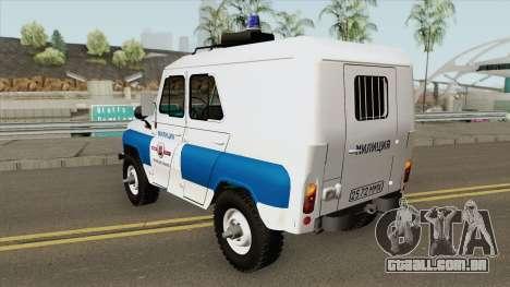 UAZ 3151 (Polícia Municipal) para GTA San Andreas