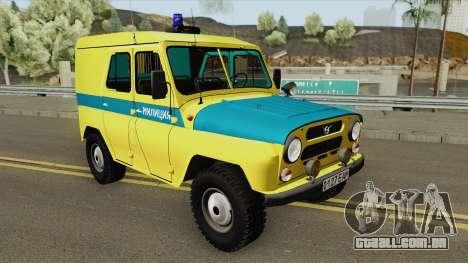 UAZ 469 (Sindicato da Polícia) para GTA San Andreas