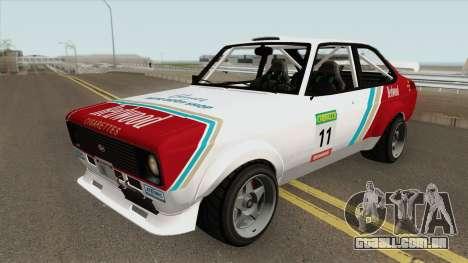 Vapid Retinue MK2 GTA V para GTA San Andreas
