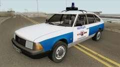 21418 AZLK Moskvich (Polícia Municipal)