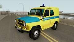 UAZ 469 (Sindicato da Polícia)