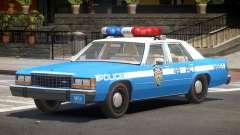 Ford LTD Crown Victoria NYC Police 1986 para GTA 4