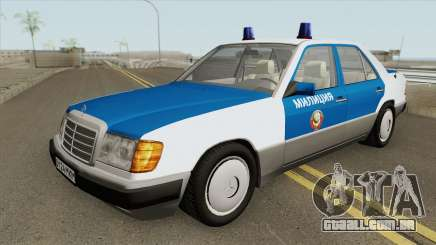 Mercedes-Benz W124 (Police) 1990 para GTA San Andreas