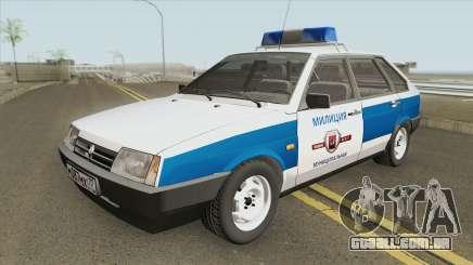 2109 (Polícia Municipal) para GTA San Andreas