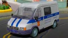 GAZ 2217 Sobol Polícia 2003 para GTA San Andreas