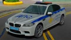 BMW M5 F10 SB polícia de trânsito