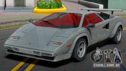 Lamborghini Countach LP400S 1978 (IVF) para GTA San Andreas