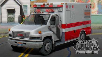GMC C5500 Topkick 2008 Ambulance para GTA San Andreas