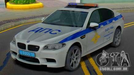 BMW M5 F10 SB polícia de trânsito para GTA San Andreas