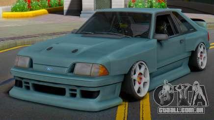 Ford Foxbody Wickedz Edition para GTA San Andreas