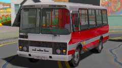 PAZ-32054 ônibus para GTA San Andreas