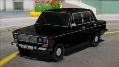 Edição Negra Vaz 2106 para GTA San Andreas