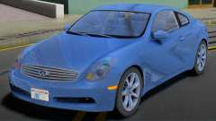 Infiniti G35 SA Plates para GTA San Andreas