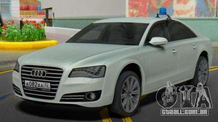 Audi R8 2013, A Administração da região para GTA San Andreas