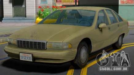 Chevrolet Caprice 1991 MY para GTA San Andreas