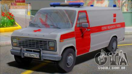Ford 150 Ambulância Socorro Médico para GTA San Andreas