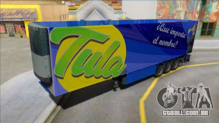 Tula Drink Trailer para GTA San Andreas