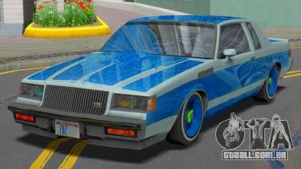 Buick GNX 1987 Lowrider para GTA San Andreas