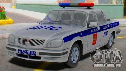 Gaz Volga 31105 Polícia DPS 2006 para GTA San Andreas