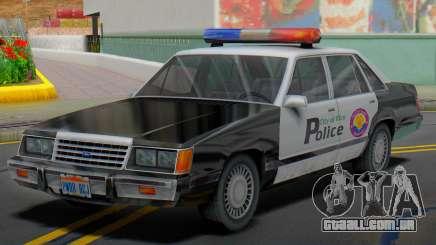 Ford LTD LX 1985 (VCPD) para GTA San Andreas