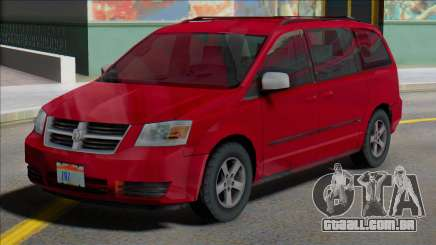 Dodge Grand Caravan 2009 MY para GTA San Andreas