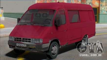 Gazela 2705 Van 6 lugares para GTA San Andreas